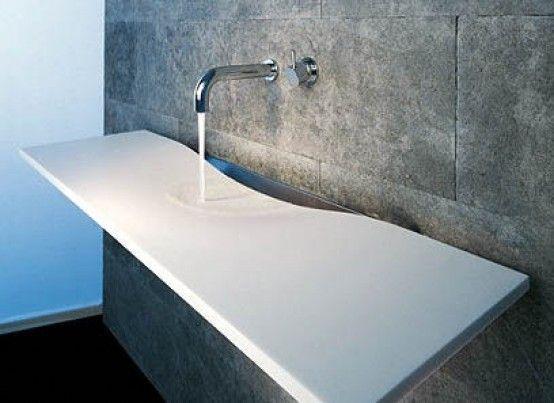 Instalación de superficies sólidas Corian® para baños en Las Palmas