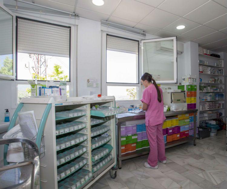 Servicio médico en residencia de día