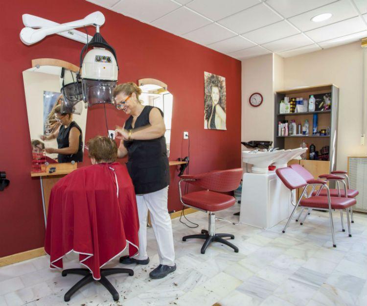 Servicio de peluquería en Granada