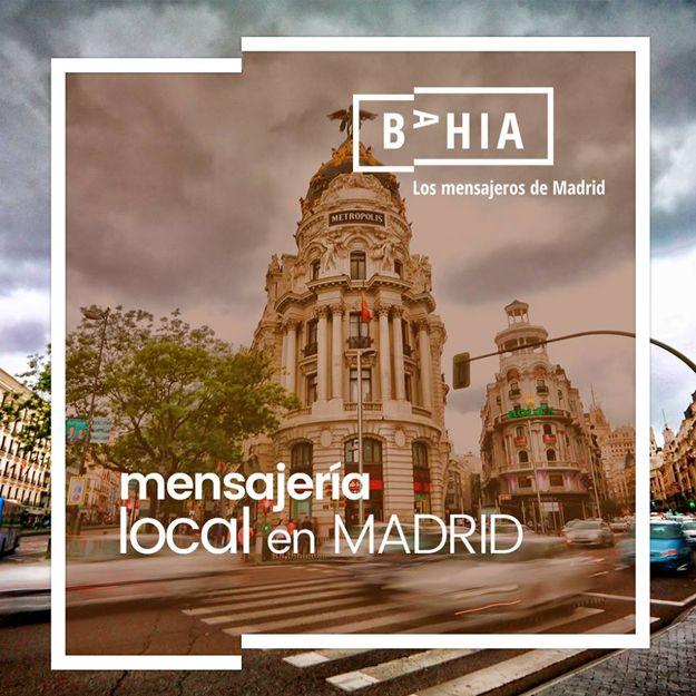 Mensajería local en Madrid