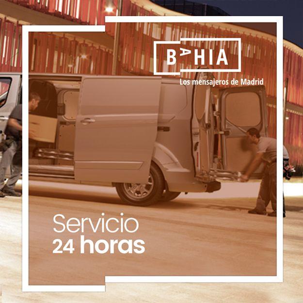 Servicio de entrega 24 horas