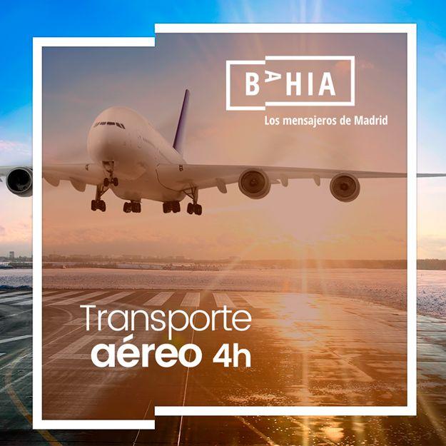 Transporte aéreo 24 horas