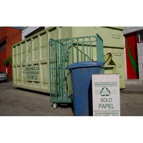 Asesoramiento en la gestión de residuos: Servicios de Reciclajes y Servicios Hernández, C.B.