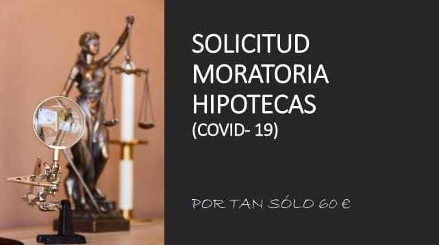SOLICITUD MORATORIA HIPOTECAS (COVID-19)