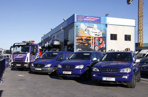Recogida de vehículos: Desguace de Autodesguaces EPI Sport