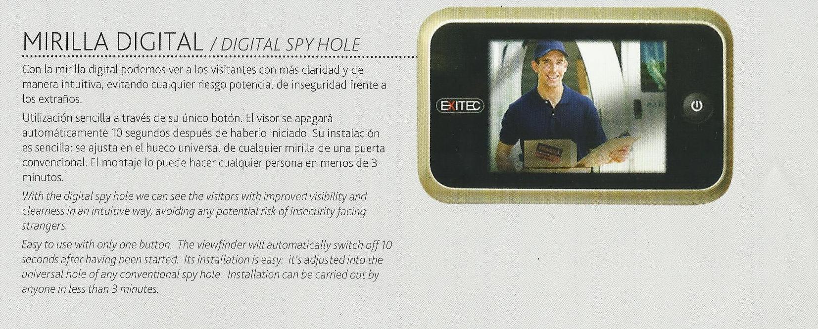 Instalación de Mirillas digitales en Aviles