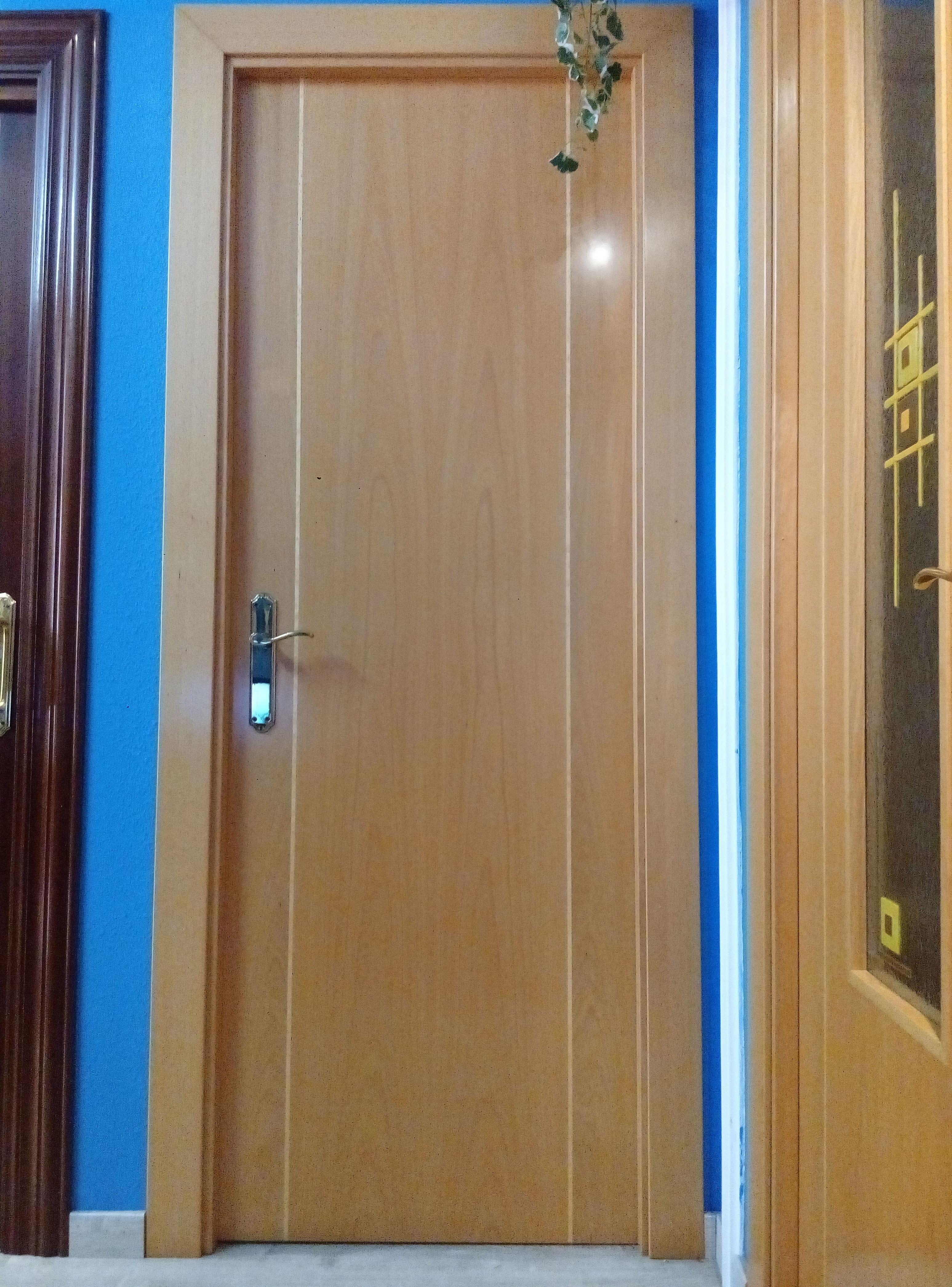 Puertas Interior de madera en Aviles