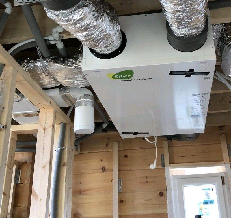 Experiencia en ejecución de obras ventiladas Passivhaus: Productos y Servicios de AISCLIMER