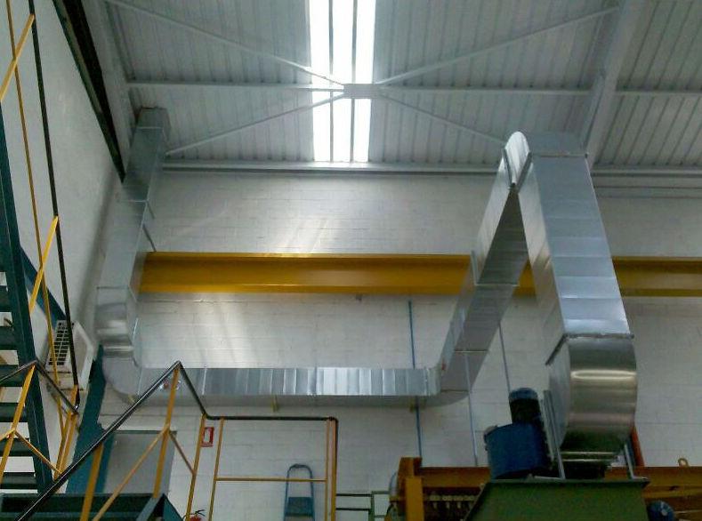 Trabajo realizado en una empresa de granallados en Navarra