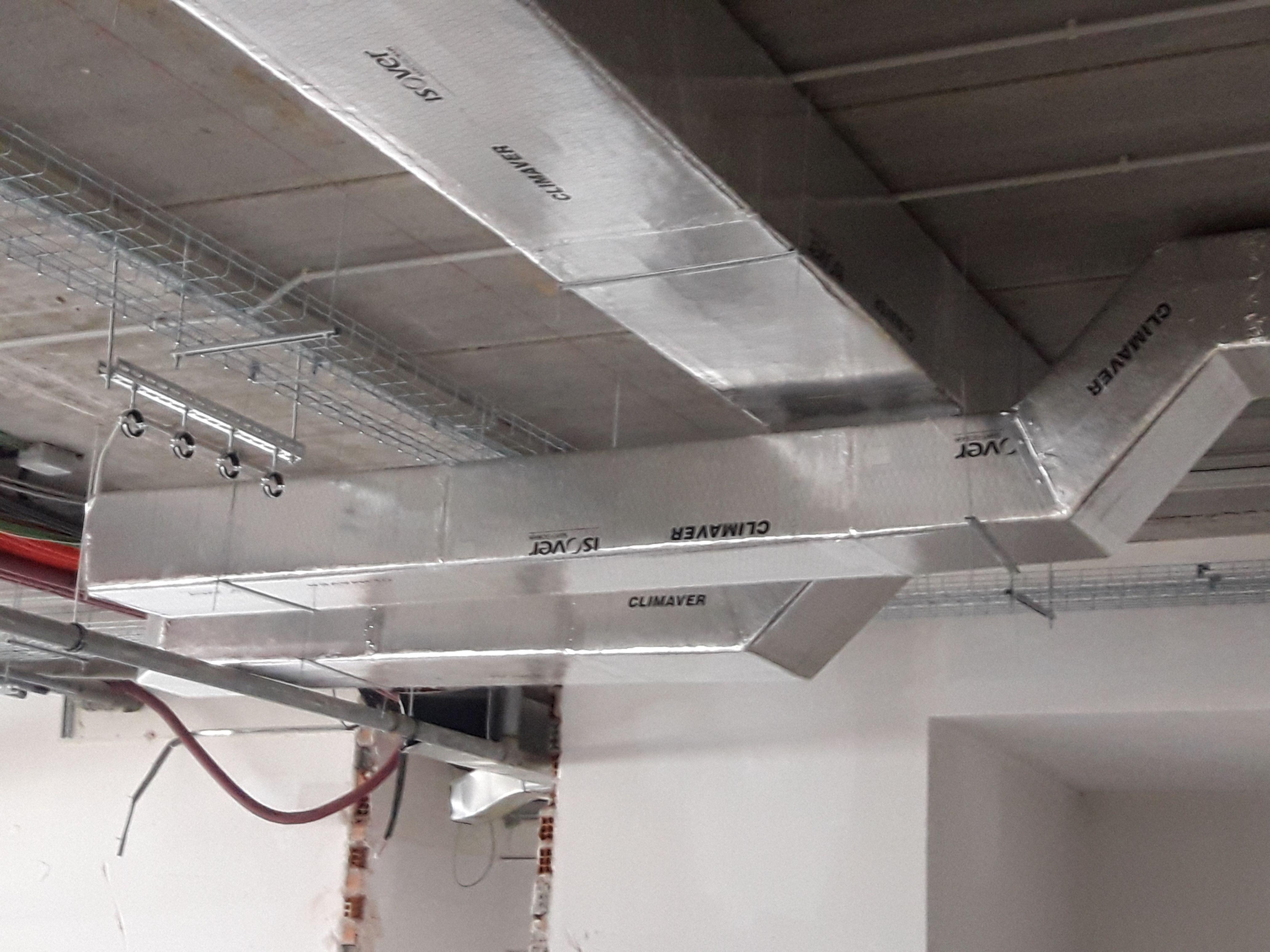 Conductos de ventilación y sistemas de climatización