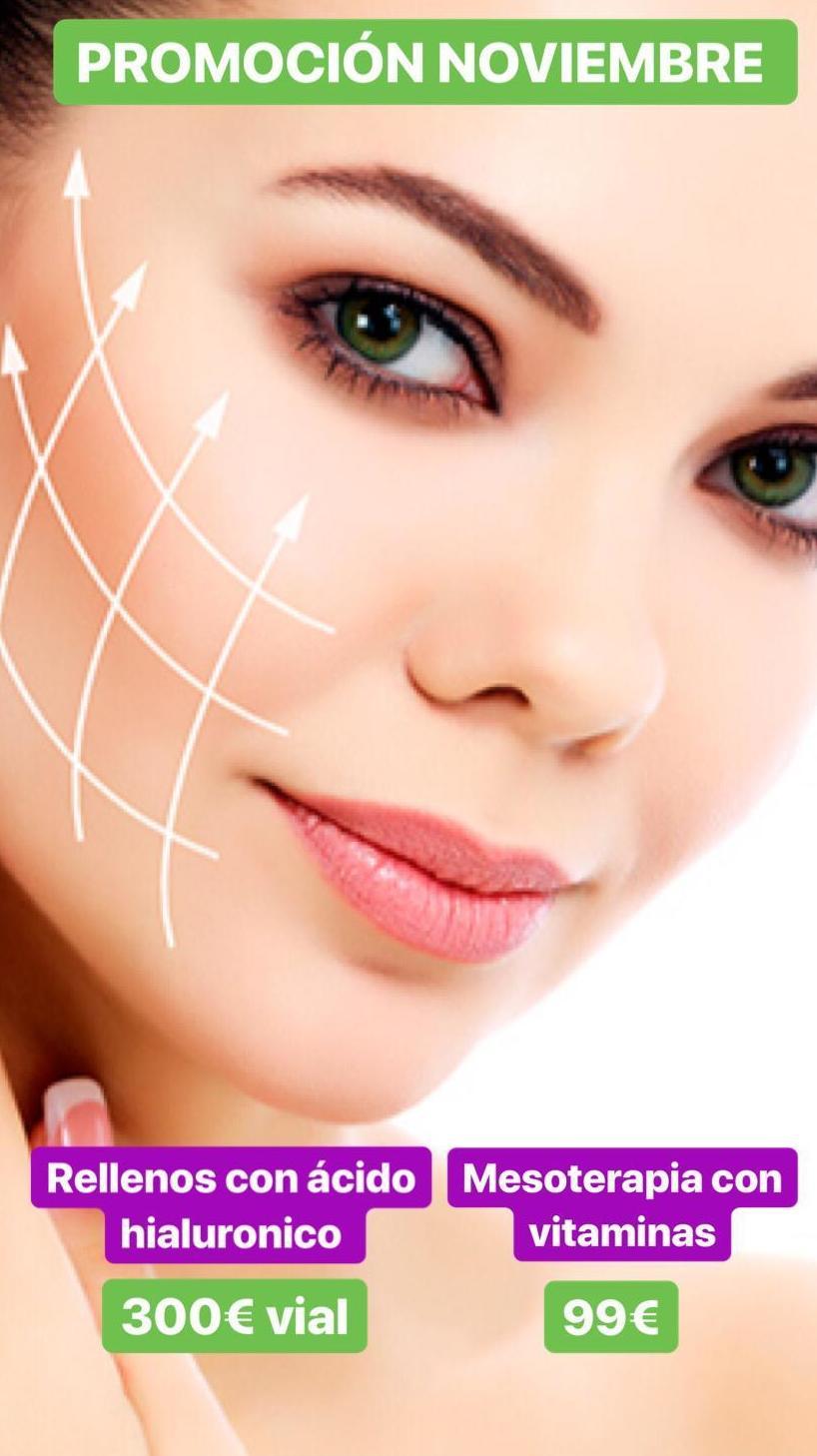 Ofertas en tratamientos faciales