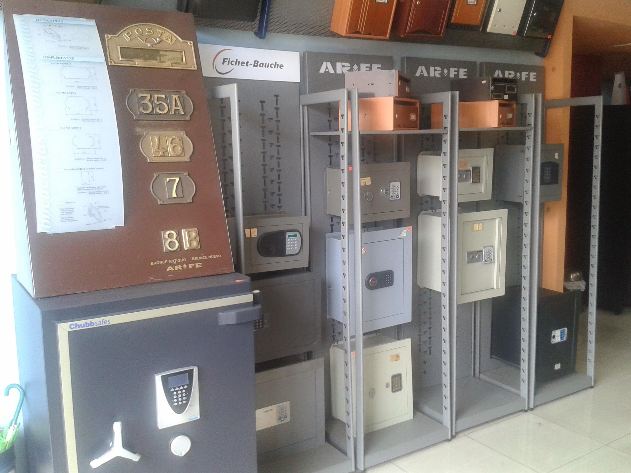 Todo tipo de cajas fuertes en Tenerife