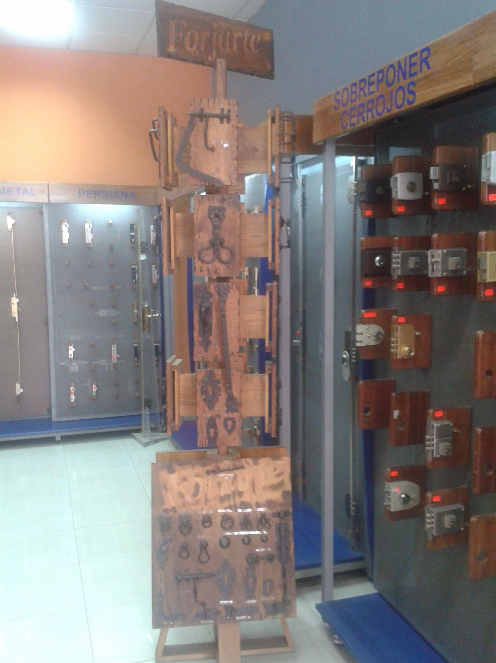 En la Cerrajería Hernández disponemos de todo tipo de cerrojos