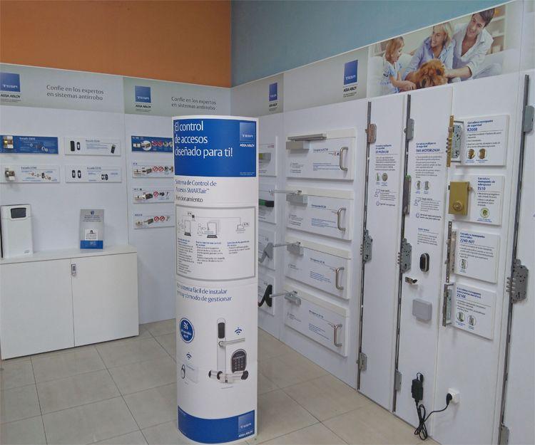 Sistemas de control de acceso en San Cristóbal de la Laguna