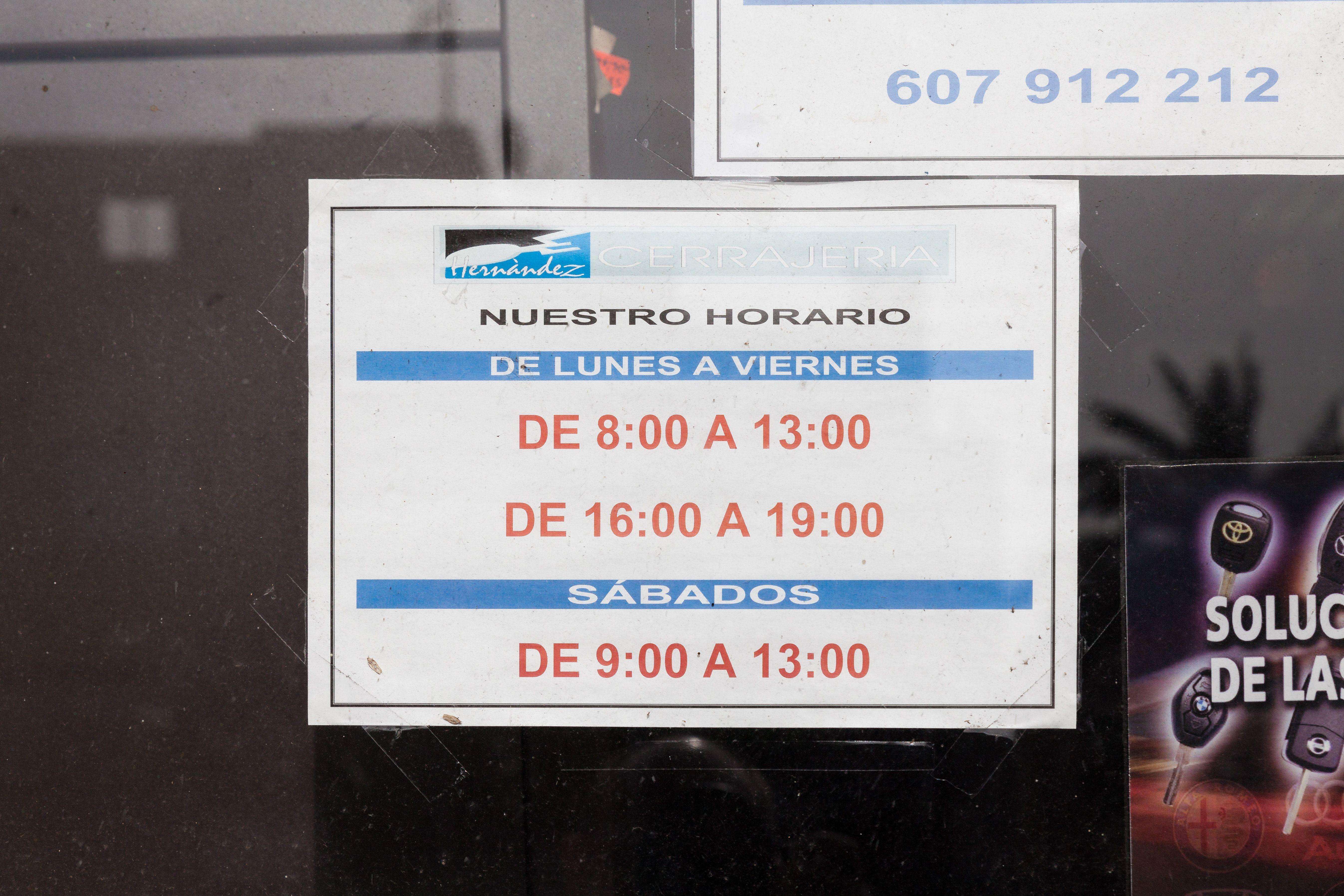 Foto 8 de Cerrajería en San Cristóbal de La Laguna | Cerrajería Hernández