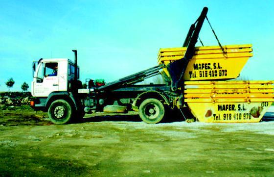 Alquiler contenedores: Materiales y servicios de Mafer