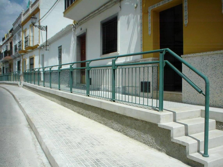 Pasamanos en Sevilla