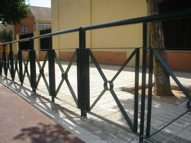 Barandas de hierro en Sevilla