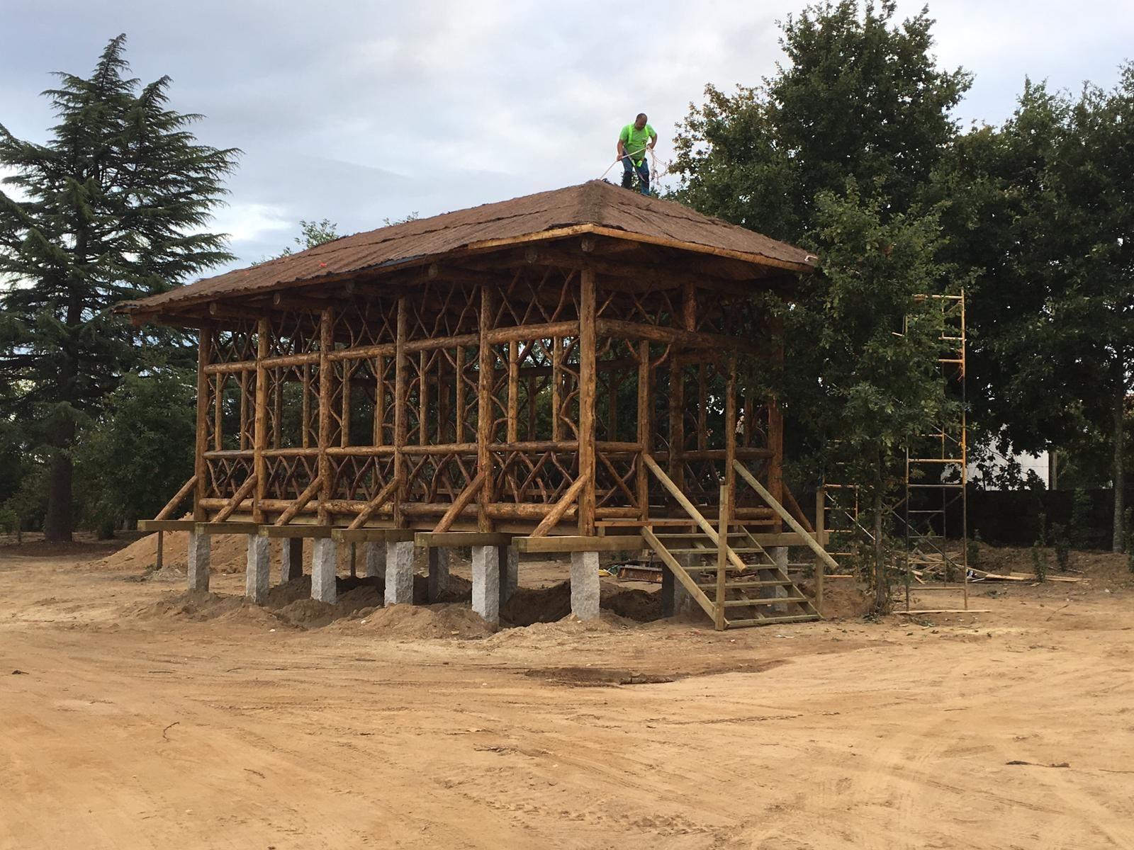 Casas de madera para jardín en Segovia