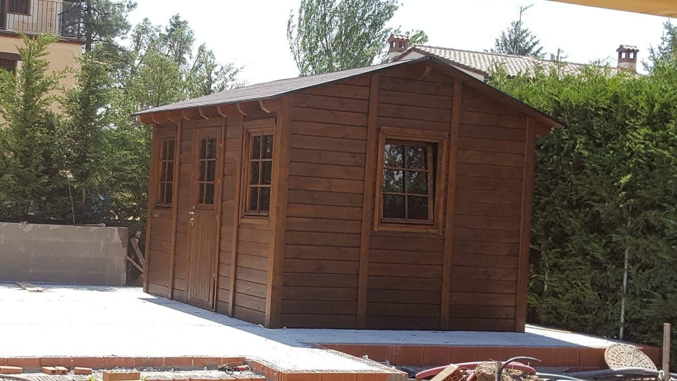 Casas de jardín en Segovia