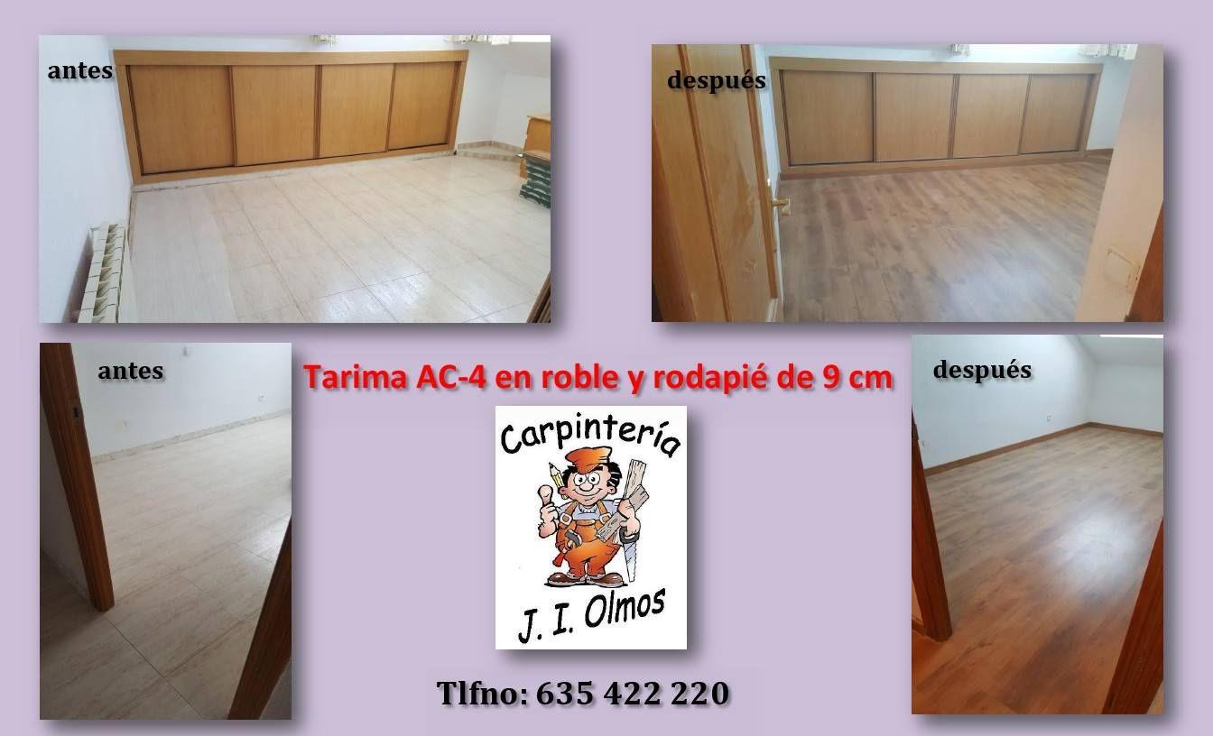 Foto 8 de Carpintería y Ebanistería en La Granja de San Ildefonso | Carpintería J. I. Olmos