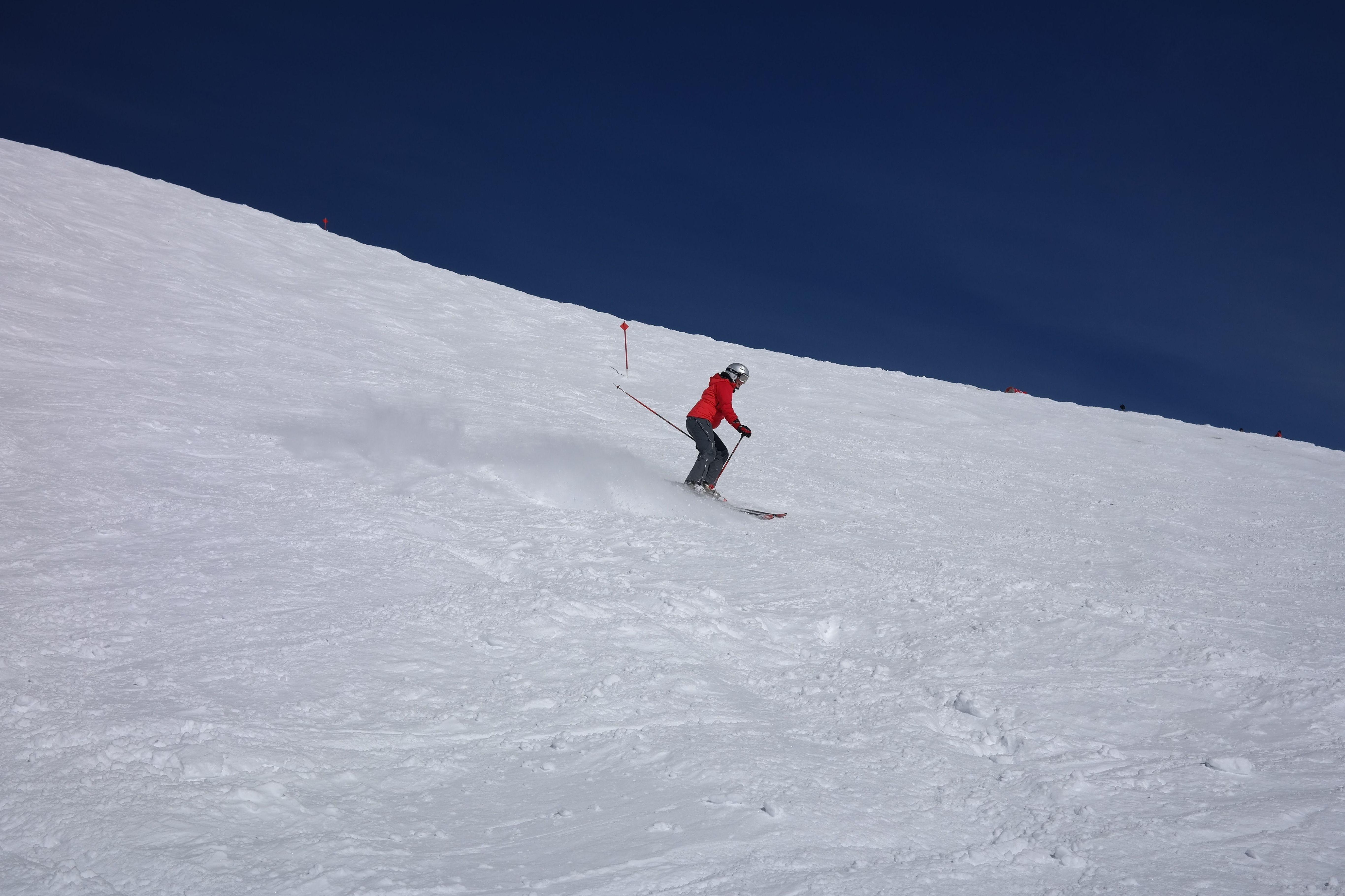 Un día en la nieve en Sierra Nevada