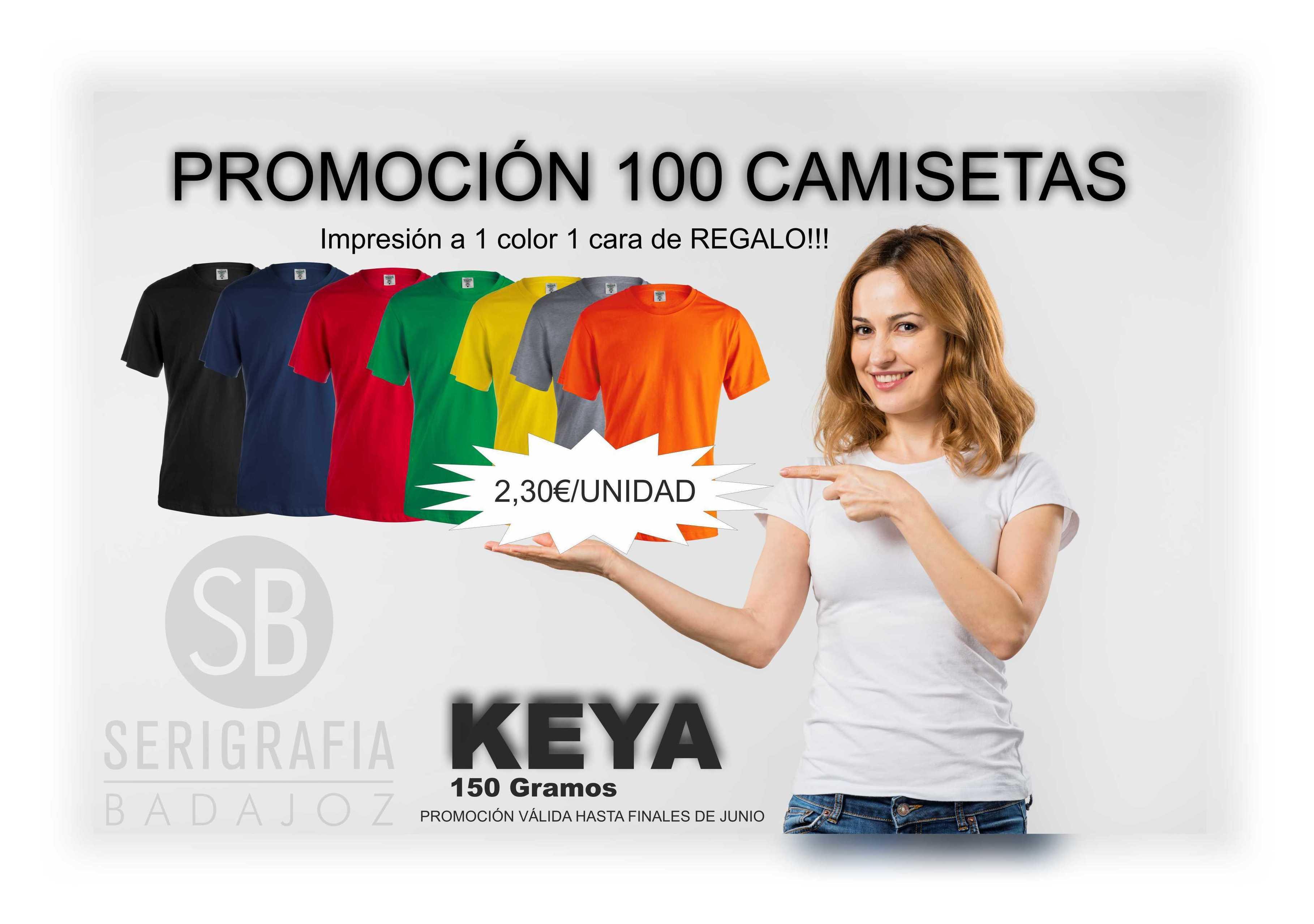 PROMOCION 100 CAMISETAS