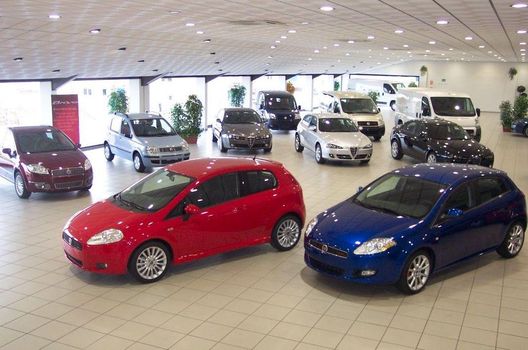 Venta de vehículos de ocasión y nuevos de marca Fiat