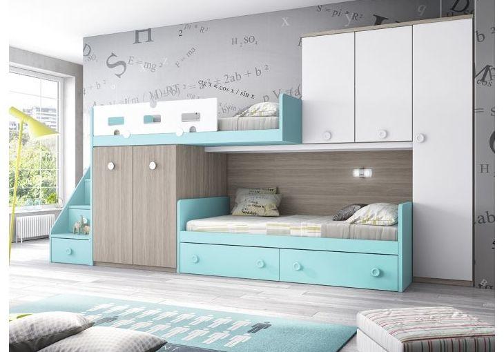 Muebles de dormiotorio juvenil en Muebles Rubla