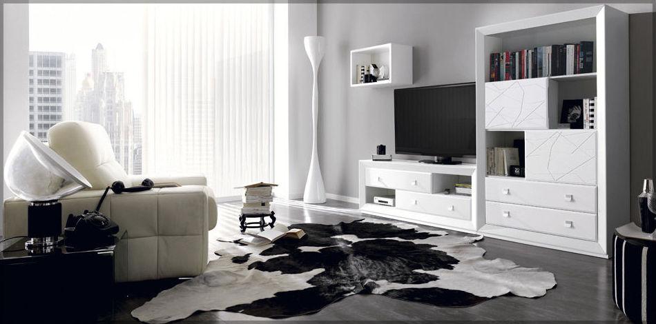 Muebles de salón en diferentes modelos y estilos