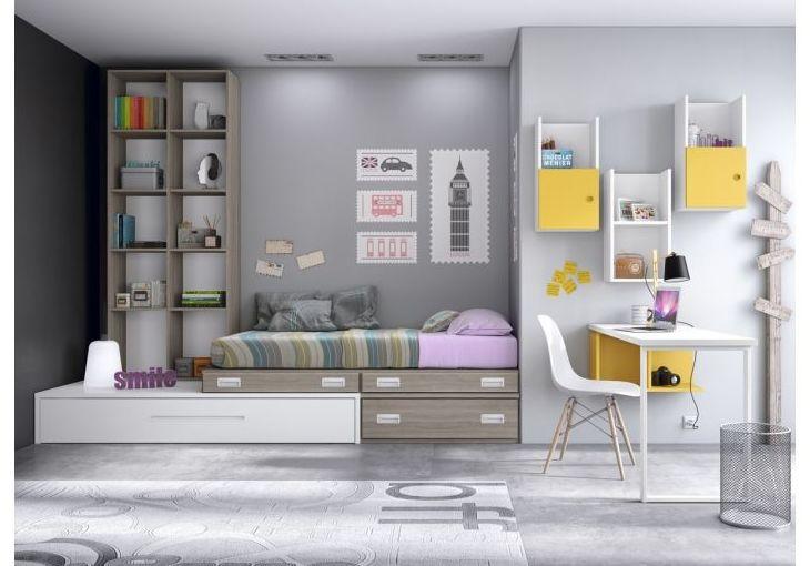 Diseño de muebles juveniles