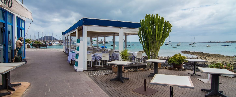 Restaurante con terraza en Corralejo
