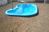 montaje y fin de obra de piscina