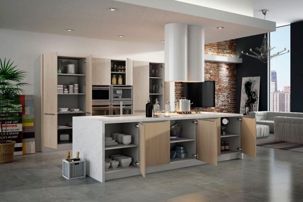 Multitud de espacios para tu cocina en Valladolid