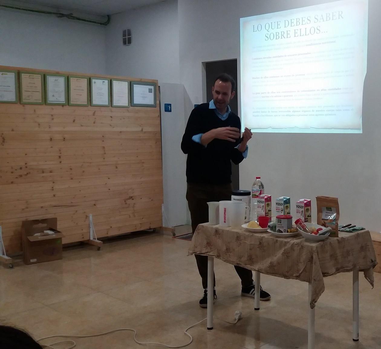 Charlas y talleres sobre nutrición