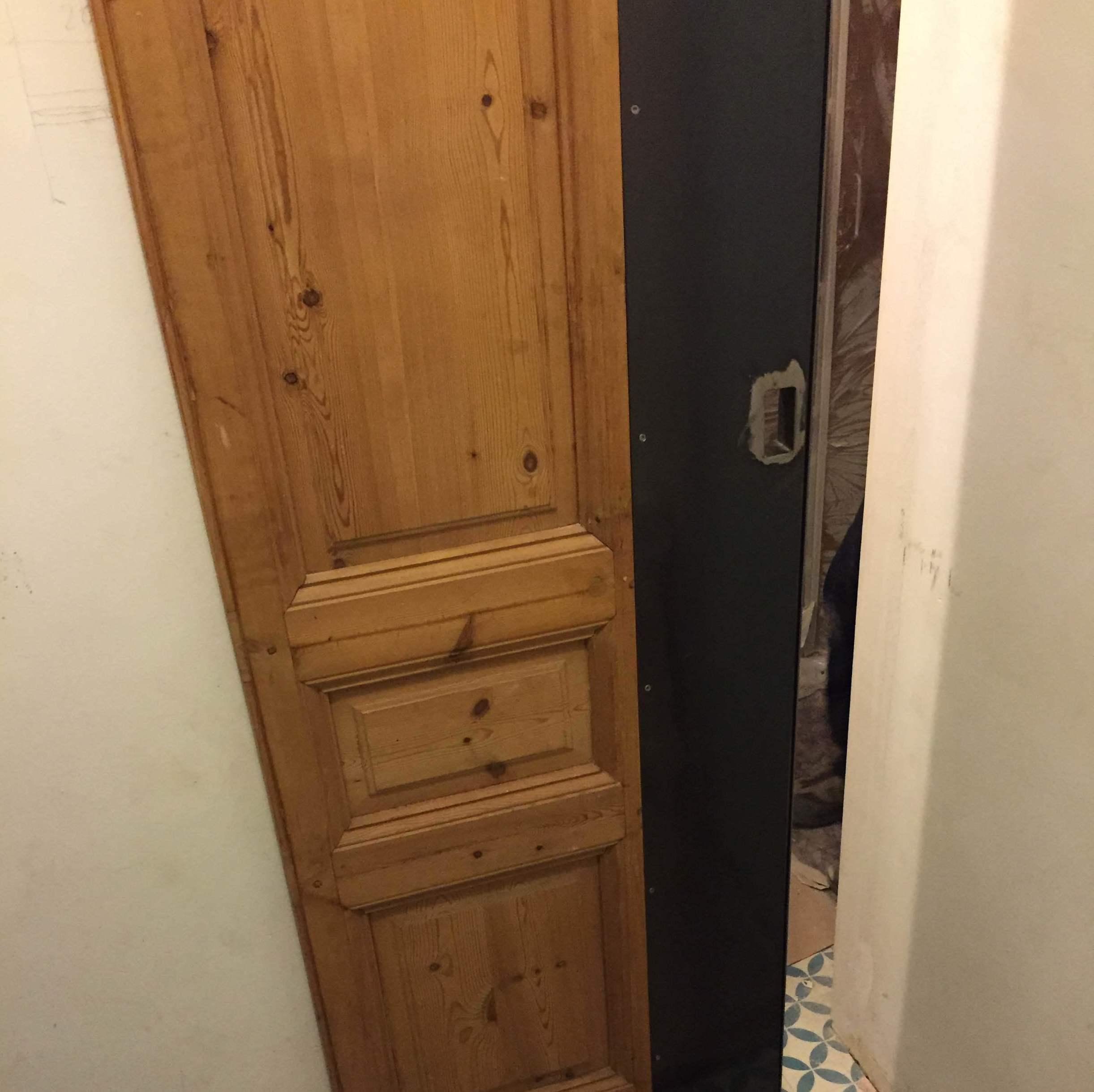 puerta corredera  vintage barcelona