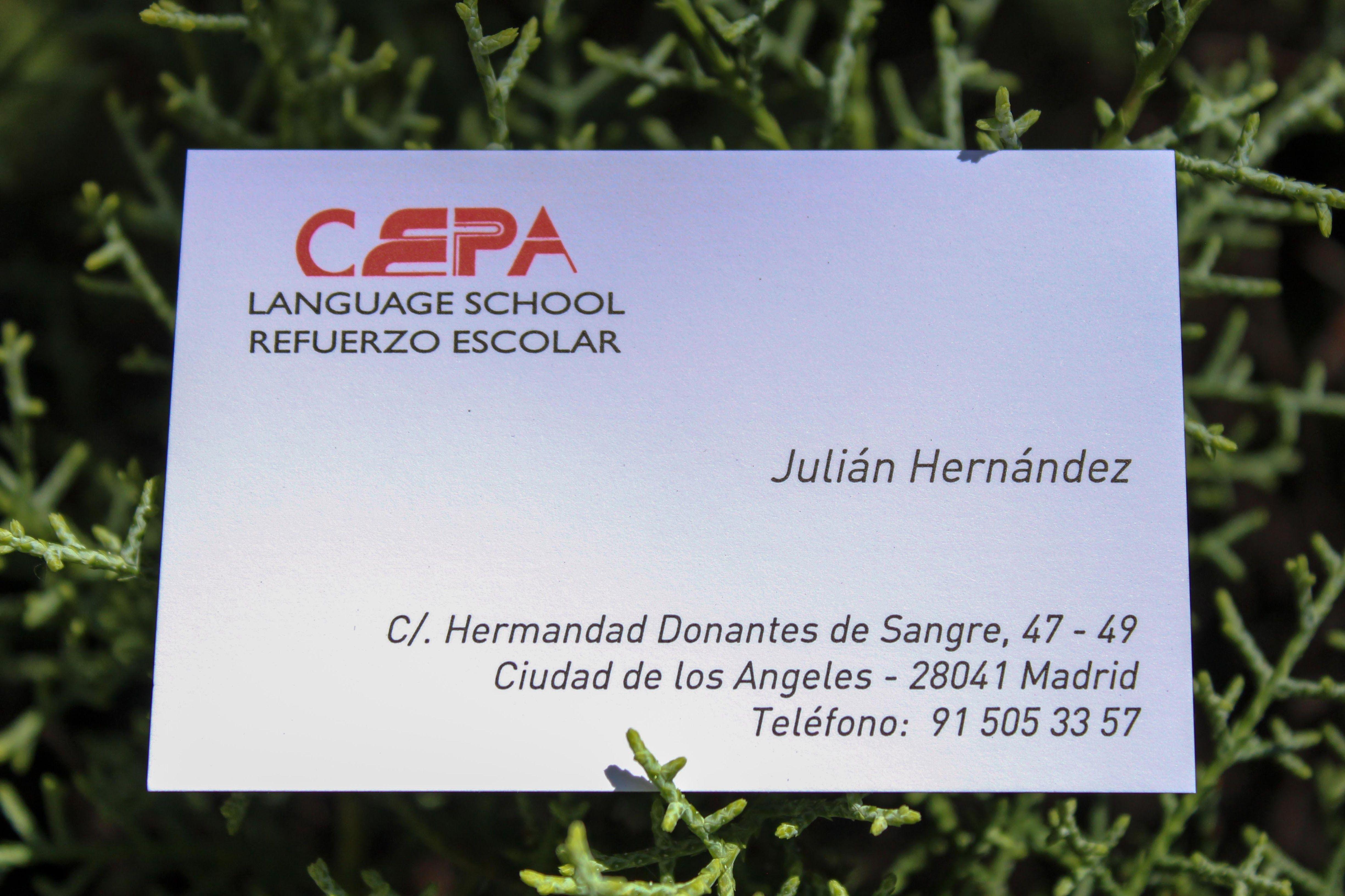 Foto 1 de Academia de inglés y de refuerzo escolar en Madrid en Madrid | Academia CEPA