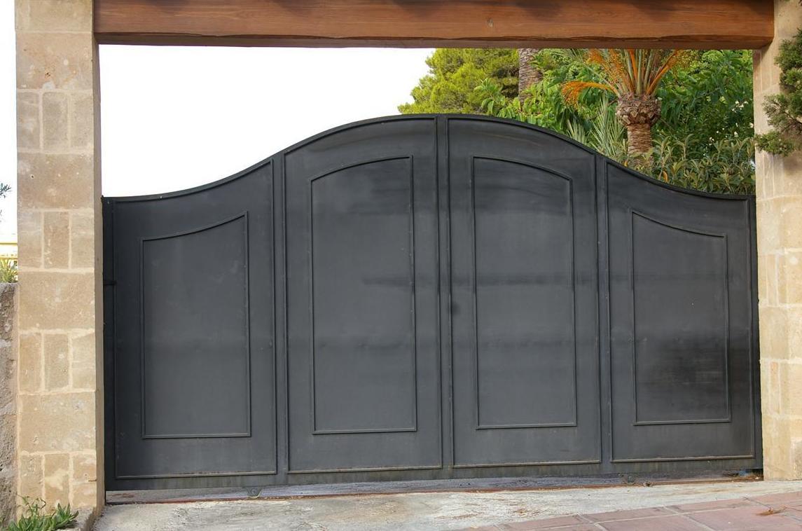 Puerta ciega de chapa