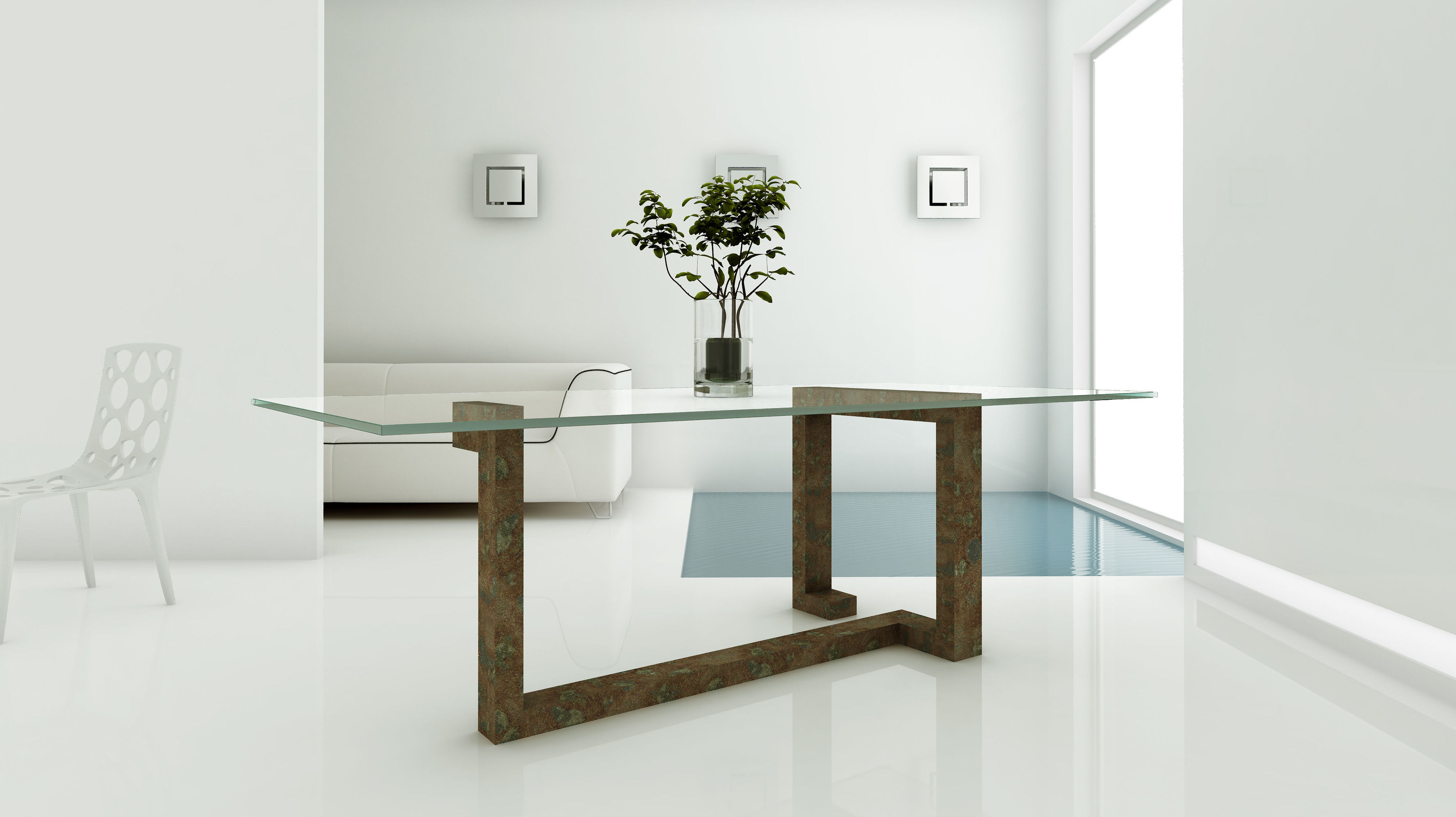 Mesa modelo Cala