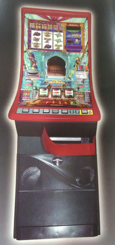 Instalación de máquinas recreativas de juego