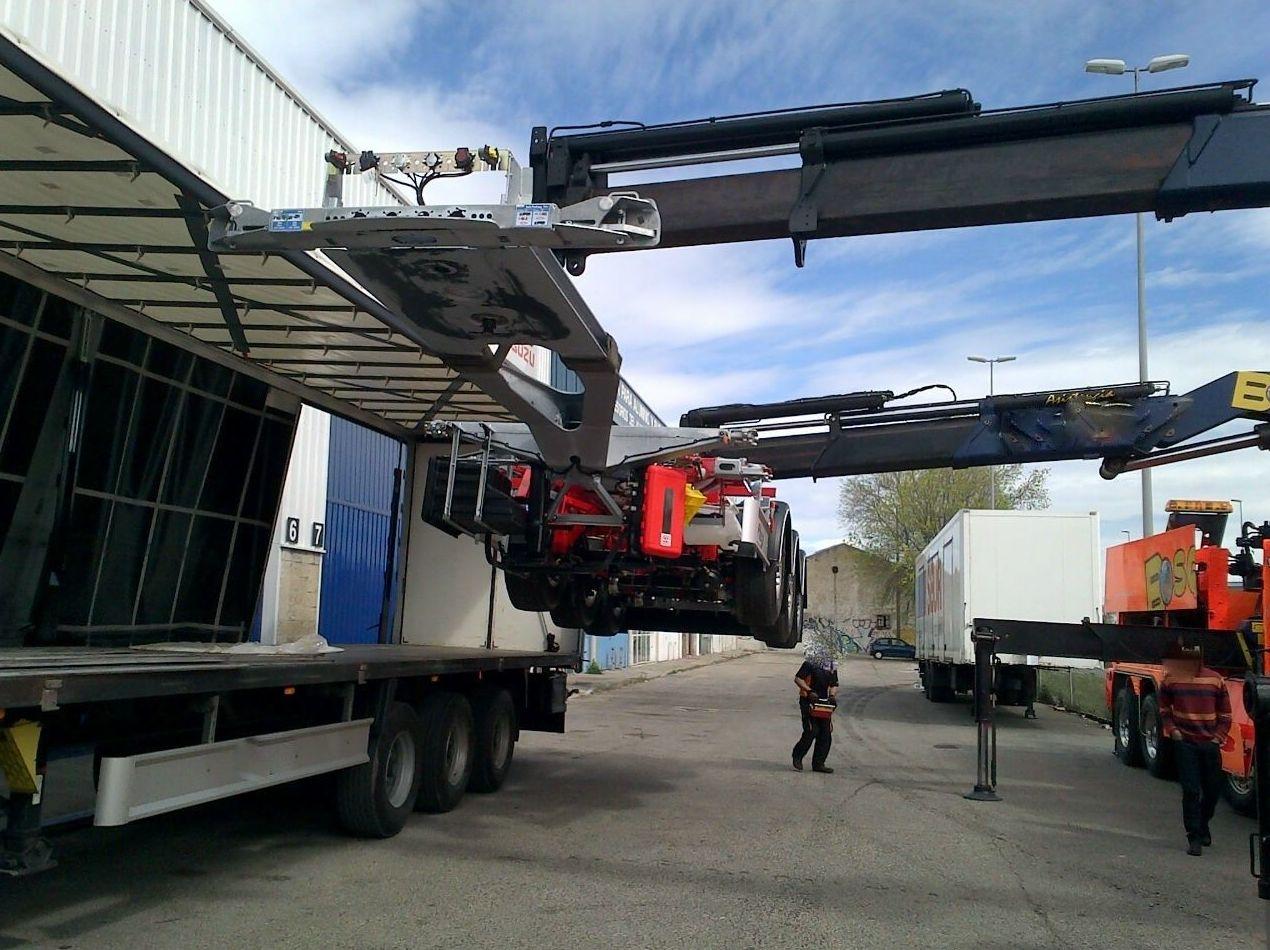 Chasis: Servicios de Semitransport