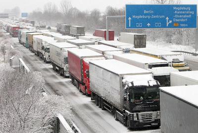 Conducción con clima adverso: nieve