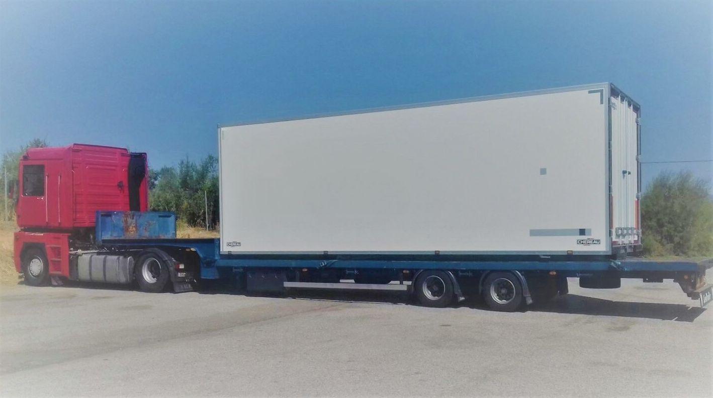 Transporte Caja frigorifica