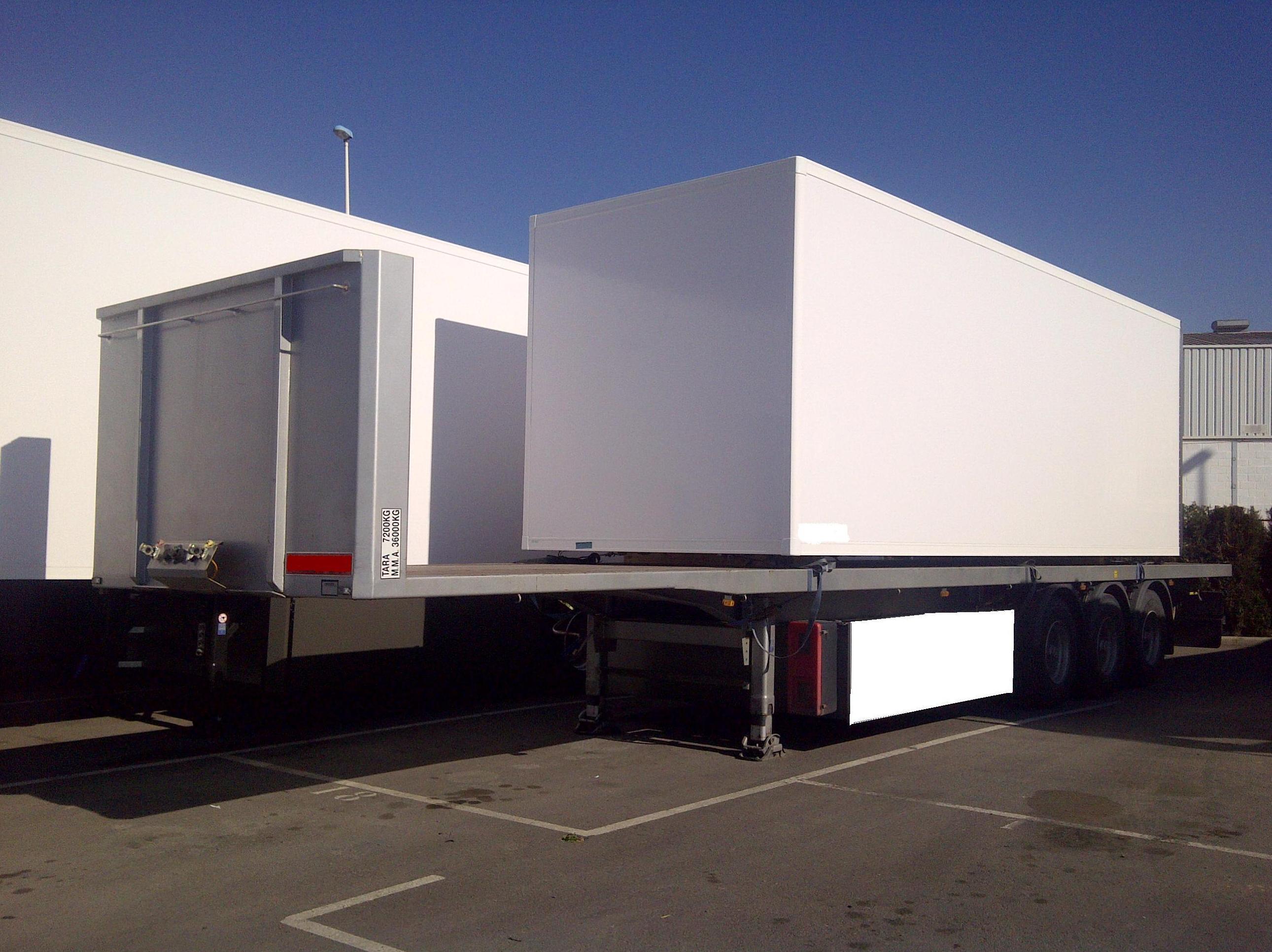 Transporte furgón frigorífico