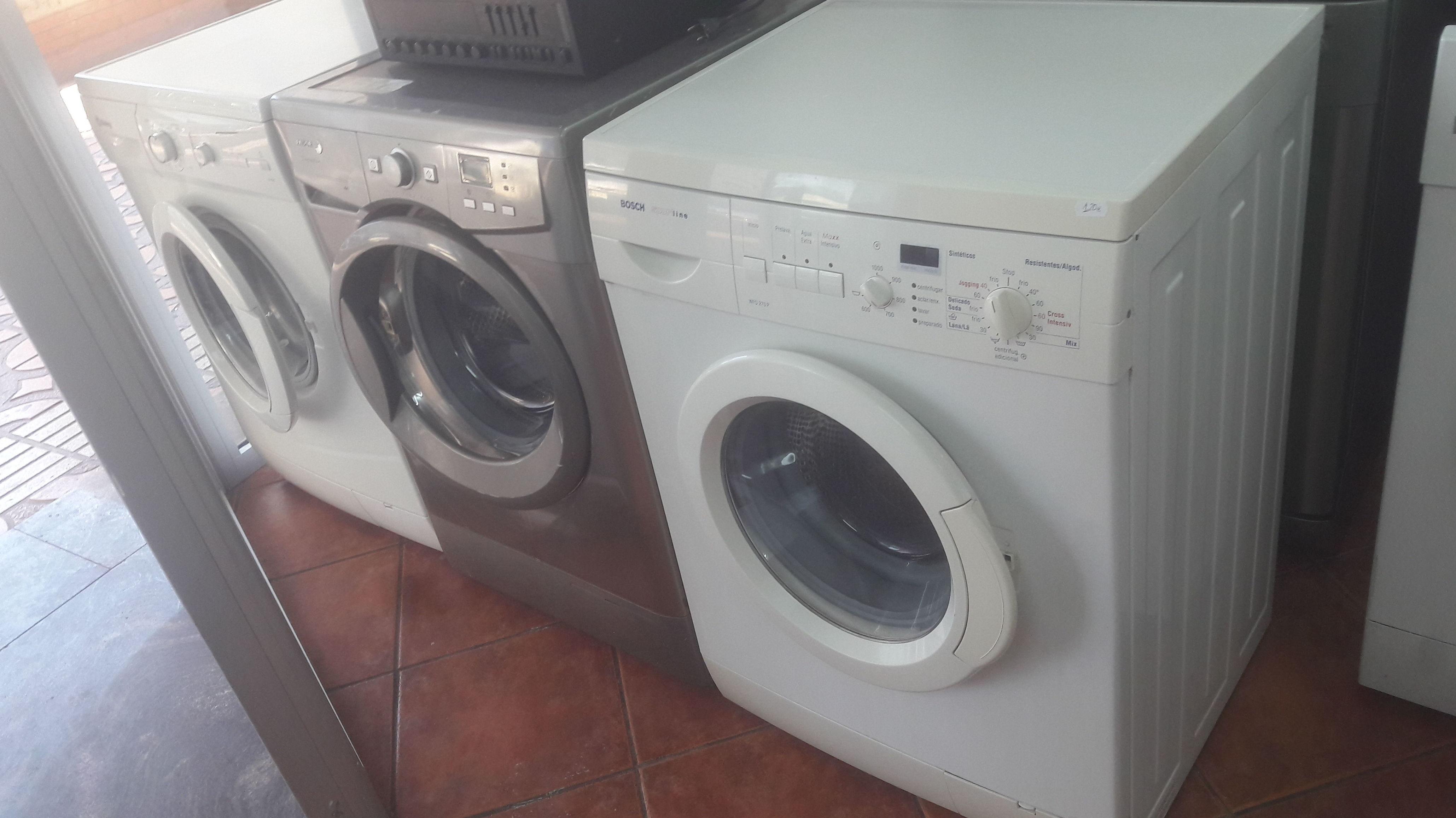 Reparar avería en lavadora