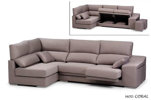 Sofá rinconera con respaldo en todos lo asientos, variedad de telas y medidas