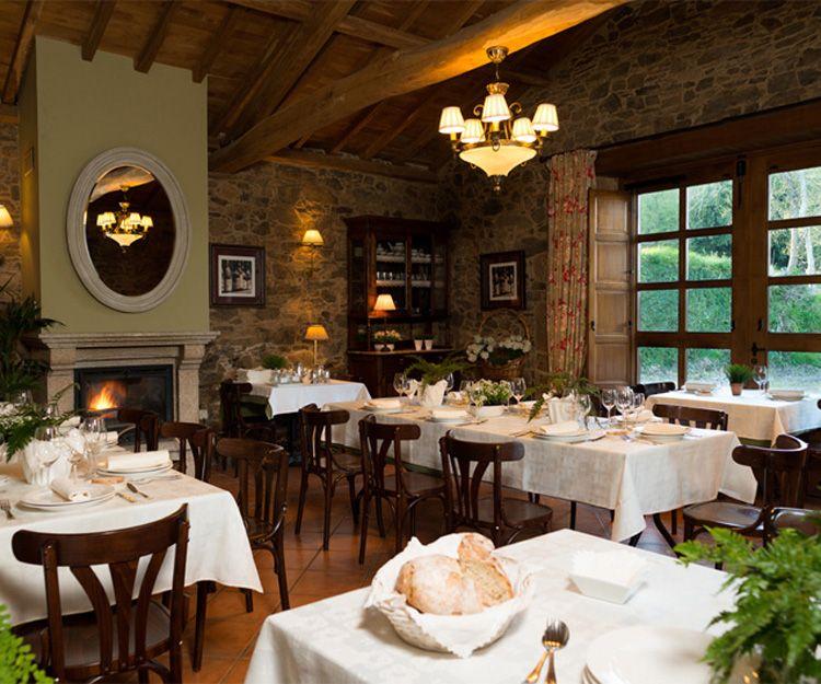 Restaurante de nuestro alojamiento rural en Santiago de Compostela