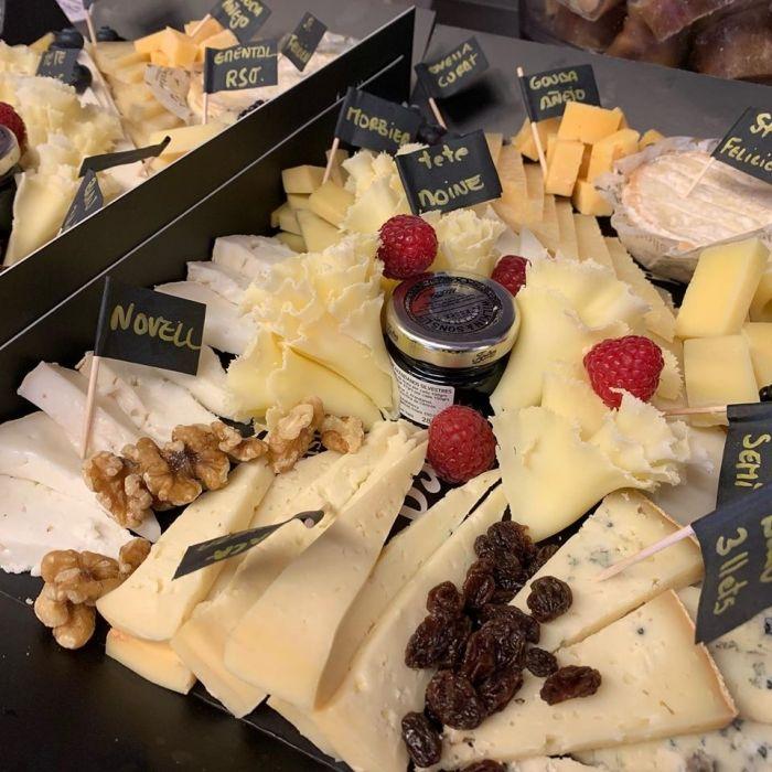 Tienda de quesos en Manresa