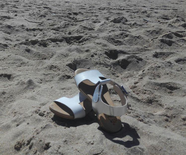 Sandalias blancas para el verano