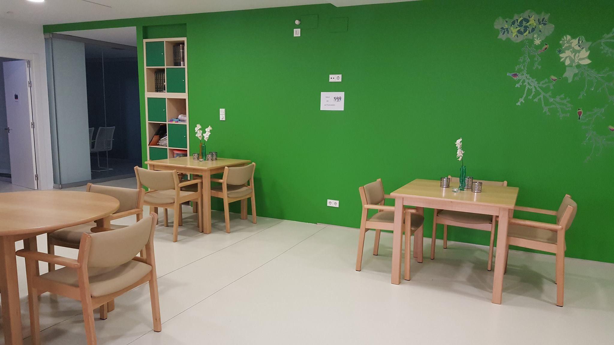 Actividades lúdicas en Centro de Día Campillín en Oviedo